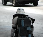Free Stock Photo: Stormtrooper costume walking at Dragoncon 2008