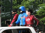 Free Stock Photo: Cobra Commander and officers costumes in 2008 Dragoncon parade