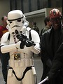 Free Stock Photo: Stormtrooper and Darth Maul costume at Dragoncon 2008