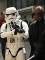 Free Stock Photo: Stormtrooper and Darth Maul costume at Dragoncon 2008