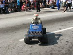 Free Stock Photo: Robot driven RC car in 2008 Dragoncon parade