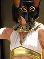 Free Stock Photo: Beautiful girl in Egyptian costume at Dragoncon 2008