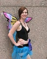 Free Stock Photo: Beautiful girl posing in a fairy costume at Dragoncon 2008