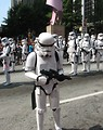 Free Stock Photo: Stormtroopers marching in the 2008 Dragoncon parade