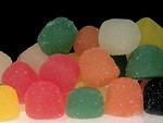 Free Stock Photo: Close-up of various colored gum drops