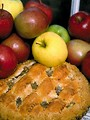 Free Stock Photo: Close-up of apples and an apple pie