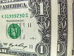 Free Stock Photo: Close-up of dollar bills