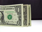 Free Stock Photo: Close-up of US dollars