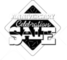 Free Stock Photo: Illustration of an anniversary sales promo text