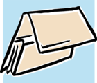 Free Stock Photo: Illustration of a tan folder