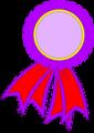 Free Stock Photo: Illustrated blank prize ribbon