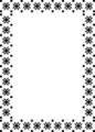 Free Stock Photo: Illustration of a fancy frame border