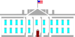 Free Stock Photo: Illustration of the White House in Washington DC