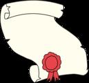 Free Stock Photo: Illustration of a blank award