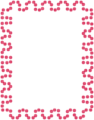Free Stock Photo: Illustration of a blank red frame border