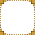 Free Stock Photo: Illustration of a blank frame border of brown squares