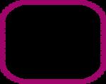 Free Stock Photo: Illustration of a blank purple frame border