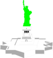 Free Stock Photo: Illustration of the Statue of Liberty