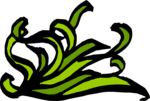 Free Stock Photo: Illustration of a lower left floral frame corner