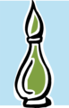 Free Stock Photo: Illustration of a perfume bottle