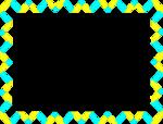 Free Stock Photo: Illustration of a blank frame border