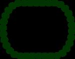 Free Stock Photo: Illustration of a green blank frame border