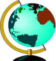 Free Stock Photo: Illustration of a globe