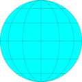 Free Stock Photo: Illustration of a blank globe