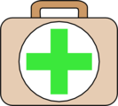 Free Stock Photo: Illustration of a first aid kit