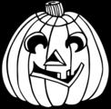 Free Stock Photo: Illustration of a jack-o-lantern