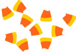 Free Stock Photo: Illustration of candy corn