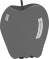 Free Stock Photo: Illustration of an apple