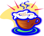 Free Stock Photo: Illustration of a cappuccino