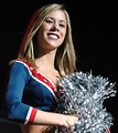 Free Stock Photo: New England Patriots cheerleader Amber van Eeghen