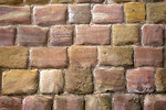 Free Stock Photo: Close-up of a stone wall