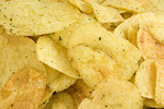 Free Stock Photo: Close-up of potato chips
