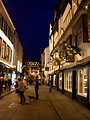 Free Stock Photo: York at night at christmas time