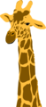 Free Stock Photo: Illustration of a giraffe