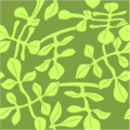 Free Stock Photo: Illustration of a background with green leaves