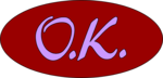 Free Stock Photo: Illustration of a red ok button