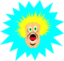 Free Stock Photo: Illustration of a surprised cartoon man