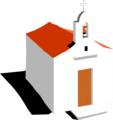 Free Stock Photo: Illustration of a mission church