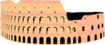 Free Stock Photo: Illustration of the Colosseum in Rome, Italy