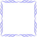 Free Stock Photo: Illustration of a blank blue frame border