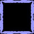 Free Stock Photo: Illustration of a blank blue frame border