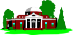Free Stock Photo: Illustration of Monticello in Virginia
