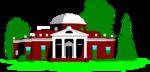 Free Stock Photo: Illustration of Monticello in Virginia