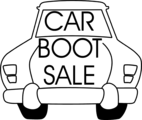 Free Stock Photo: Illustration of a car with sales text