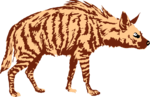 Free Stock Photo: Illustration of a hyena