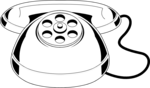Free Stock Photo: Illustration of a toy telephone